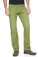 7 For All Mankind Standard Fit Jeans in Green for Men (sage) - Lyst