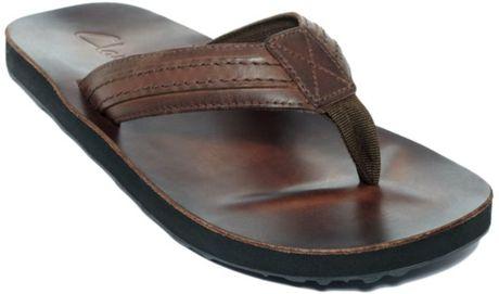 Aerosole Sandals  Clarks Sandals Jay Leather Flip Flop Sandals