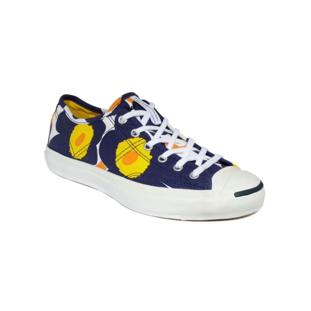 super popular aa75a 26a4e Converse Marimekko Jack Purcell Helen Sneakers in Blue - Lyst