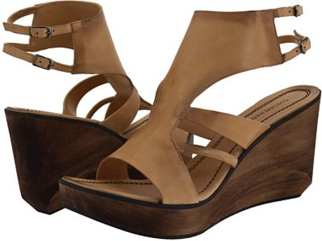 Costume National Wedge Sandals  in Beige (t)