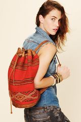 Free People Palo Alto Backpack in Blue (multi) - Lyst
