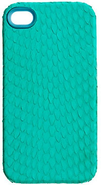 J.crew Whipsnake Iphone Case in Blue (tropical aqua) - Lyst