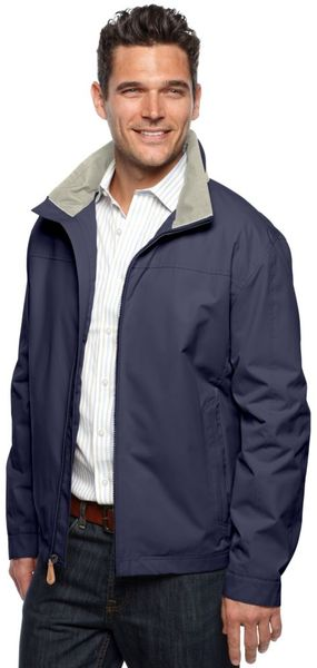 London Fog Moto Dobby Zip Front Golf Jacket - Lyst