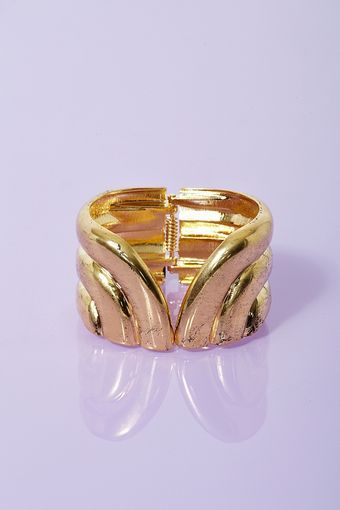 Nasty Gal Golden Wing Cuff - Lyst