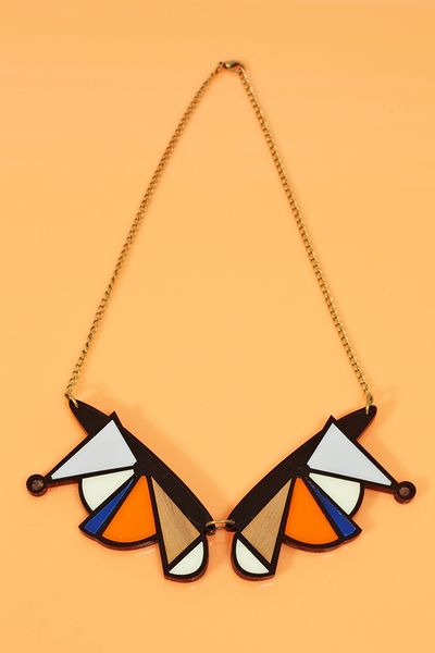 Nasty Gal Shape Shift Necklace in Multicolor