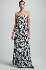 Rachel Pally Talmadge Strapless Maxi Dress Womens - Lyst