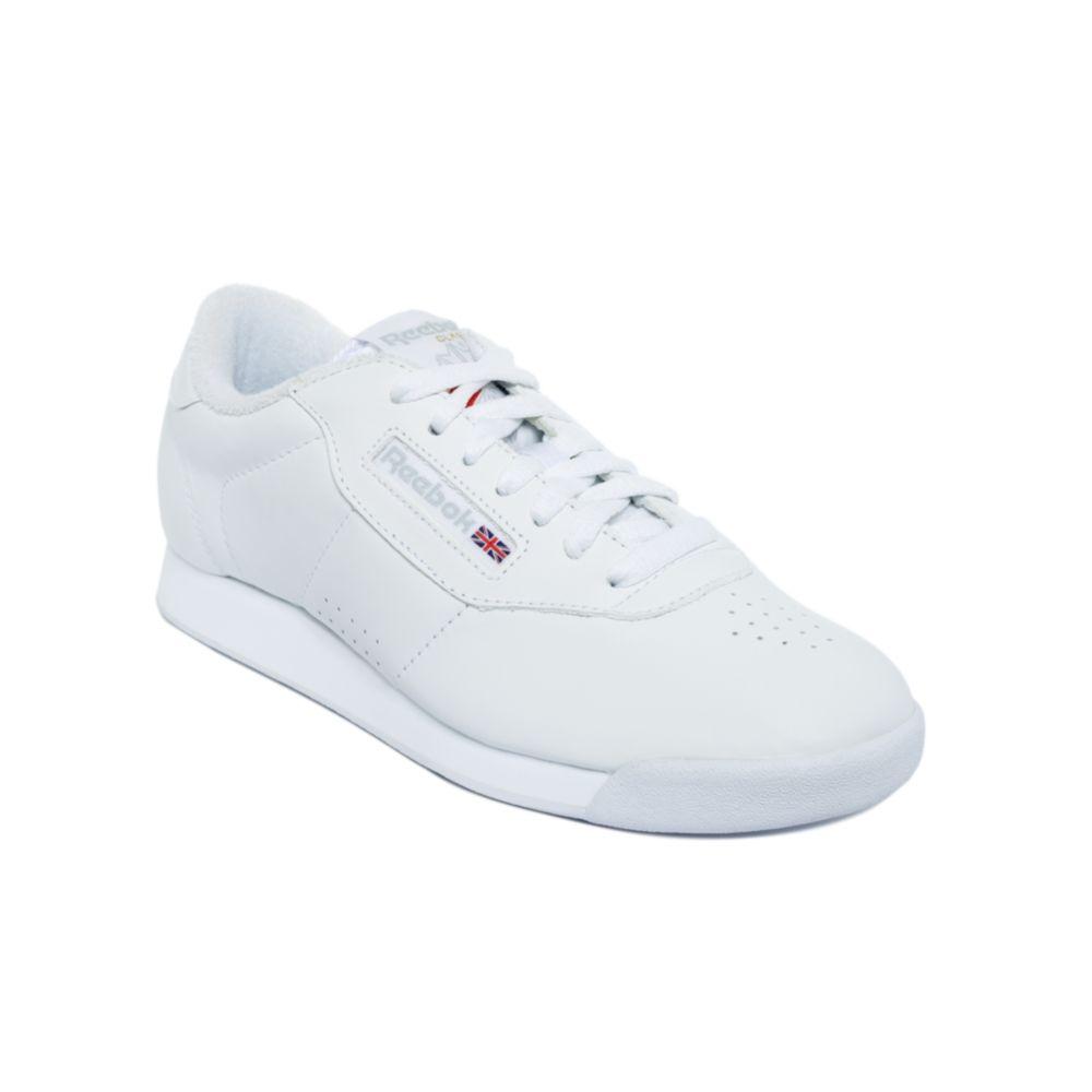 611a476ac4e Lyst - Reebok Princess Sneakers in White
