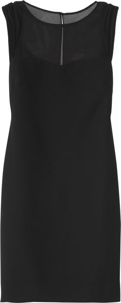 Sandro Rialto Crepe Dress - Lyst