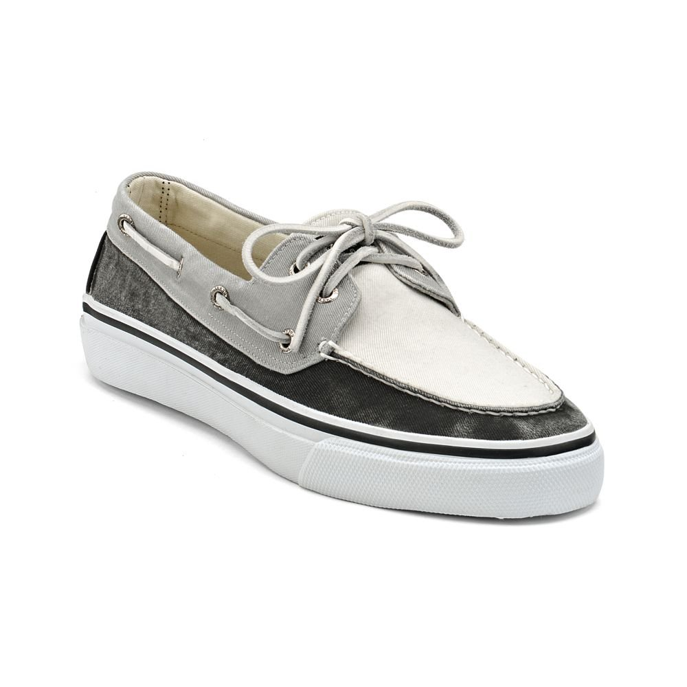sperry top sider bahama 2eye boat shoe in white for