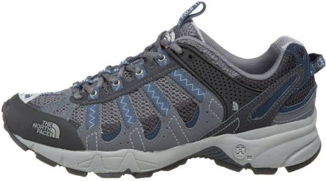 Facial Products   on Face Mens Ultra 105 Multisport Light Hiking Shoe In Blue For Men  Grey