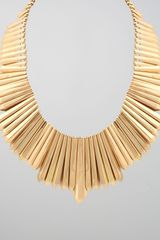 Belle Noel Mini Dagger Collar Necklace - Lyst