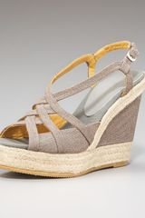 Bettye Muller Cutout Wedge Espadrille - Lyst
