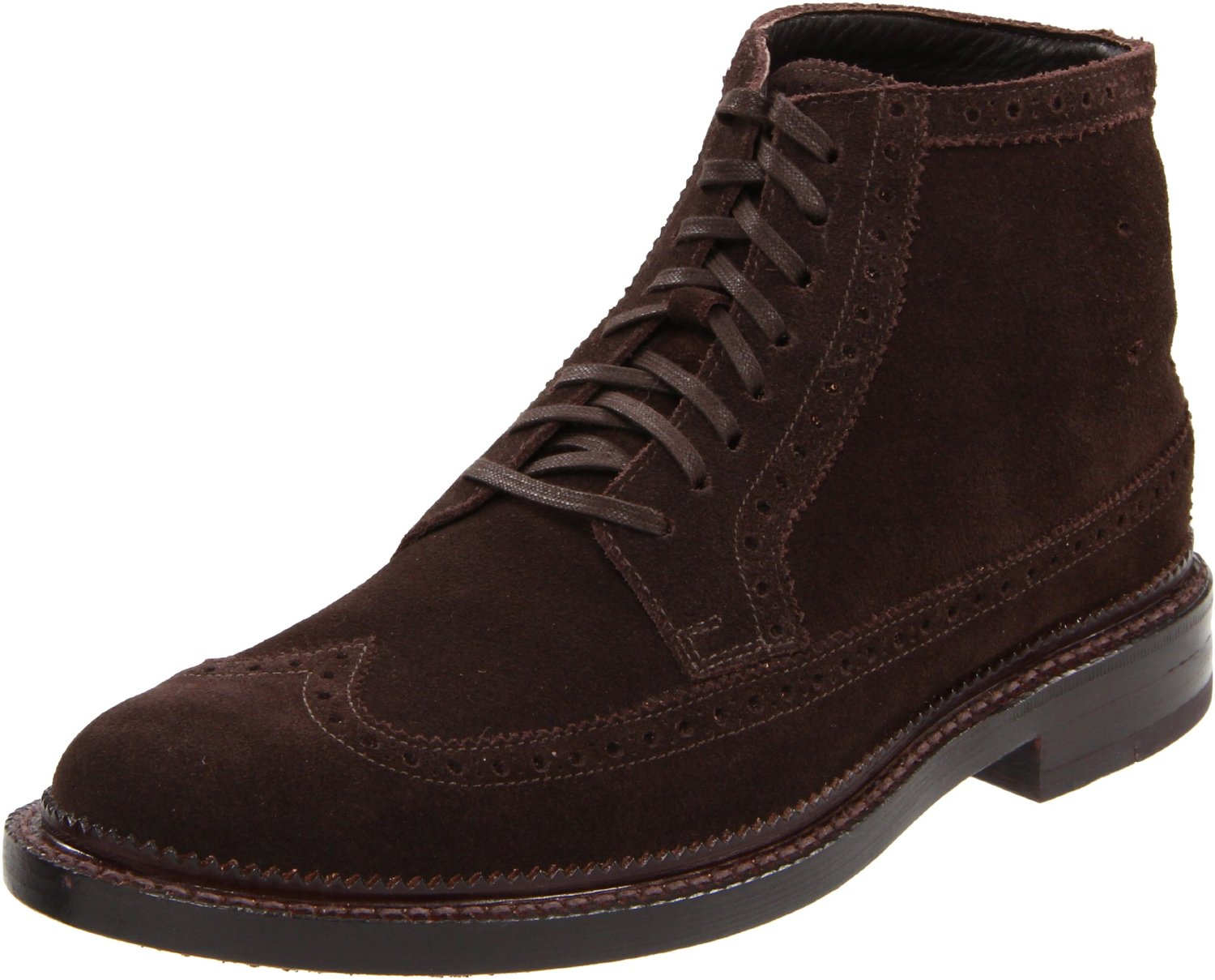 cole haan cole haan mens jayhawker ankle boot in brown for men t moro suede lyst. Black Bedroom Furniture Sets. Home Design Ideas