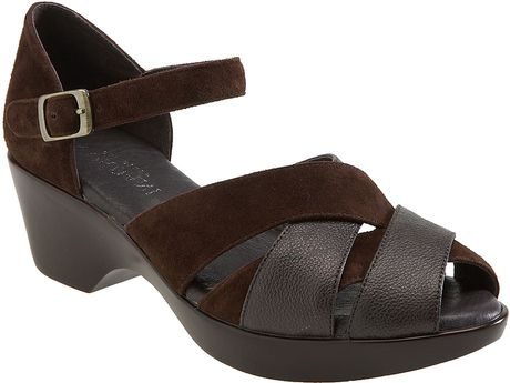 Cordani Gillian Sandal in Brown (brown/ antique pewter) - Lyst