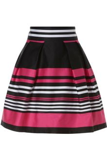 Jane Norman Stripe Full Skirt - Lyst