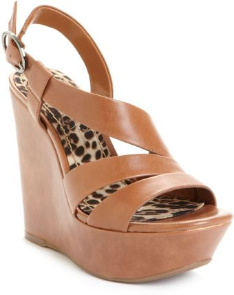 Jessica Simpson Claria Wedge Sandals - Lyst