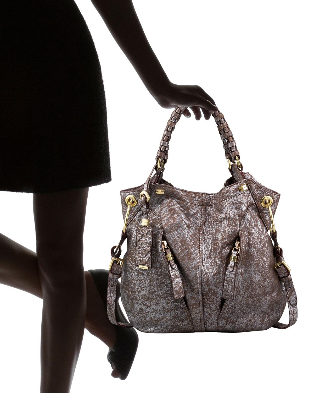 Oryany Gwen Metallic Shoulder Bag 110