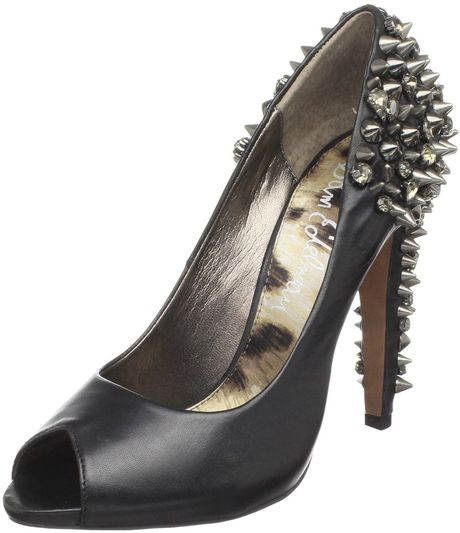 Sam Edelman Sam Edelman Womens Lorissa Pump in Black (black leather) - Lyst