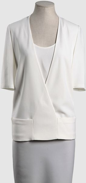 Calvin Klein Calvin Klein Collection Blouses - Lyst