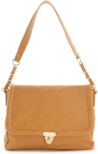 Kelsi Dagger Harrison Shoulder Bag in Beige (camel) - Lyst