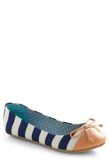 ModCloth Queen Of The Cone Flat in Blue and Pink - Lyst