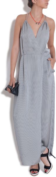3.1 Phillip Lim Stripe Jumpsuit - Lyst