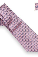 Hermes In The Pocket Tie in Purple for Men - Lyst