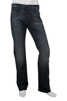 7 For All Mankind 7 For All Mankind Standard Fit Jean in Night Cat Wash - Lyst