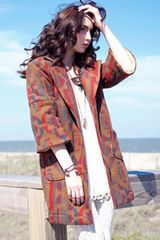 American Gold American Gold Truth Or Consequences Coat in Desert in Brown (gold) - Lyst