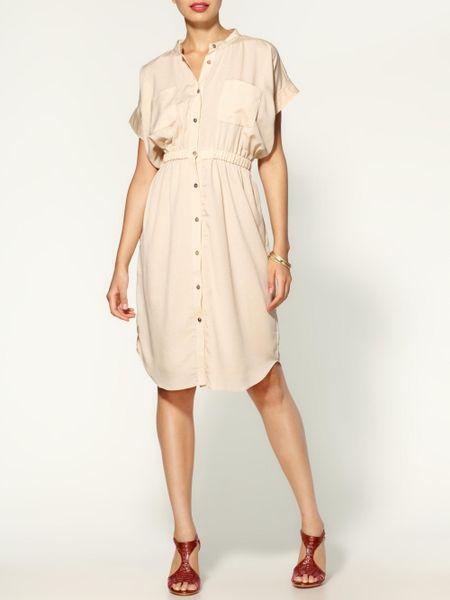 D.ra Payton Dress in Beige (blush)