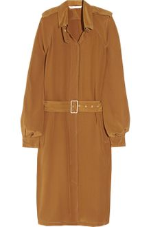 Diane Von Furstenberg Jafar Belted Silk Crepe De Chine Shirt Dress - Lyst