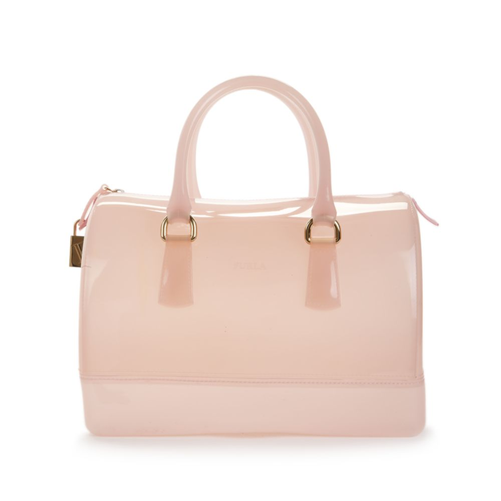 Lyst Furla Candy Bauletto Satchel In Pink