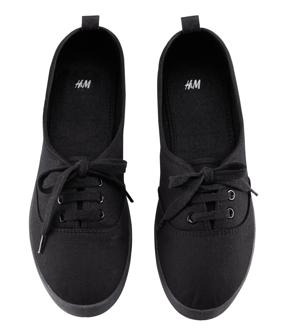 h m shoes in black lyst
