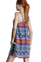 H&m Dress in Multicolor (blue) - Lyst