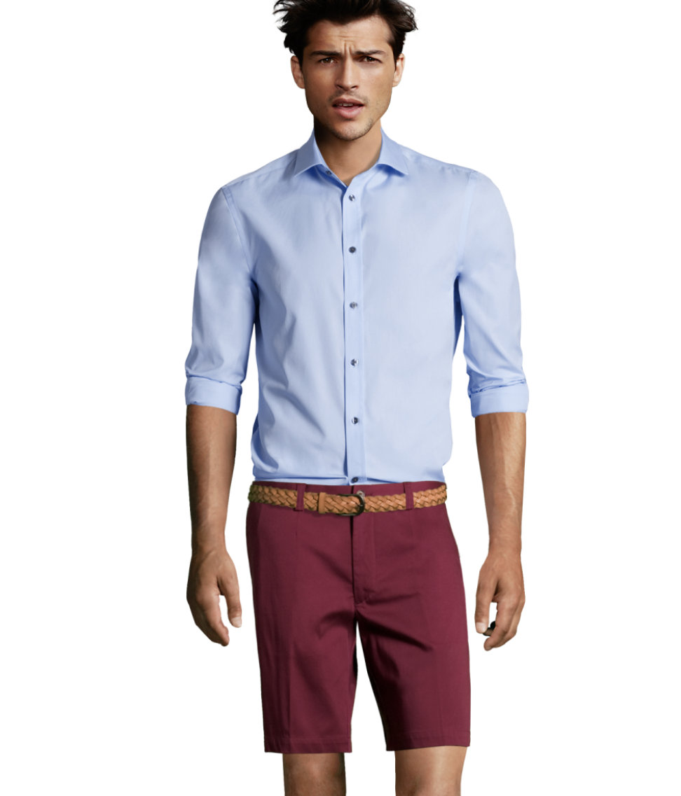 H&m Shorts in Purple for Men | Lyst