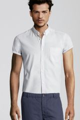H&m Shirt in White for Men (gray) - Lyst