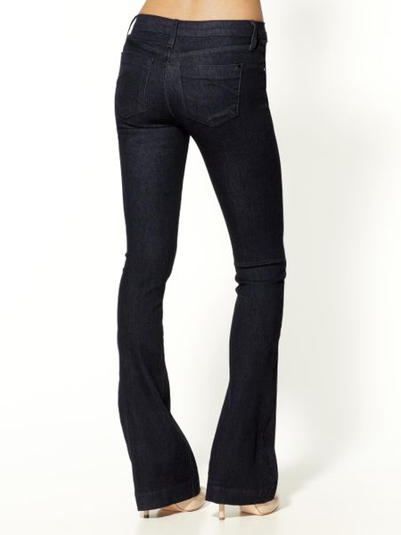 Vanity Jeans For Men : James jeans slim leg trumpet flare in blue vanity