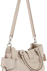 Michael By Michael Kors Michael Michael Kors Riley Large Tote in White (vanilla) - Lyst