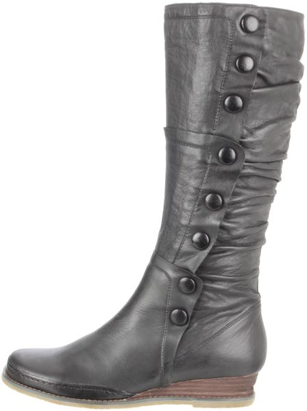 miz mooz miz mooz womens paz knee high boot in black lyst