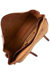Polo Ralph Lauren Leather Messenger Bag in Brown for Men - Lyst