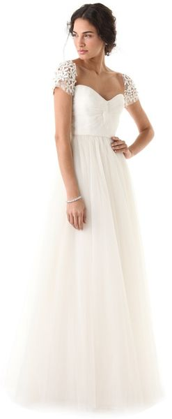 Reem Acra I Am Beautiful Dress - Lyst