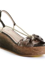 Tracy Reese Preston Flatform Sandals - Lyst