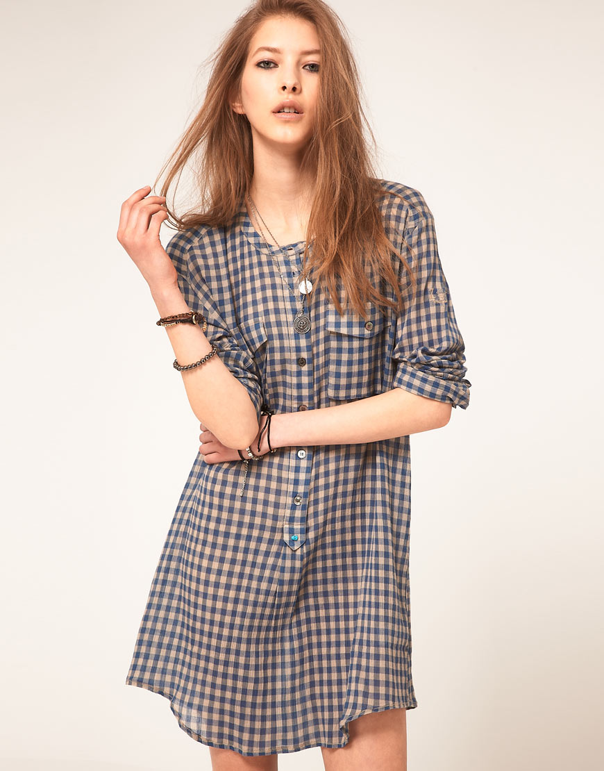 Gingham Check Dress images