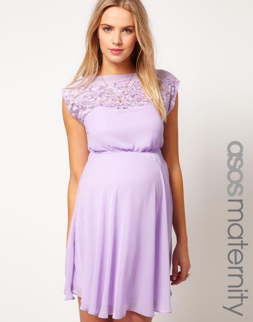 Light Purple Maternity Dresses