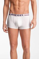 Diesel Graphic Trunks in White for Men - Lyst