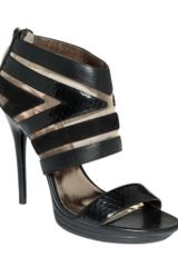 DKNY Sasha High Heel Sandals - Lyst