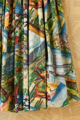 Free People Vintage Printed Souvenir High Waisted Skirt in Multicolor (multi) - Lyst