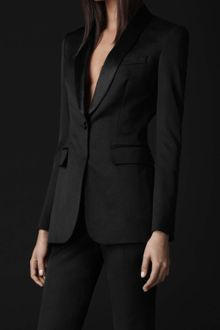 Burberry Prorsum Slim Fit Virgin Wool Jacket - Lyst