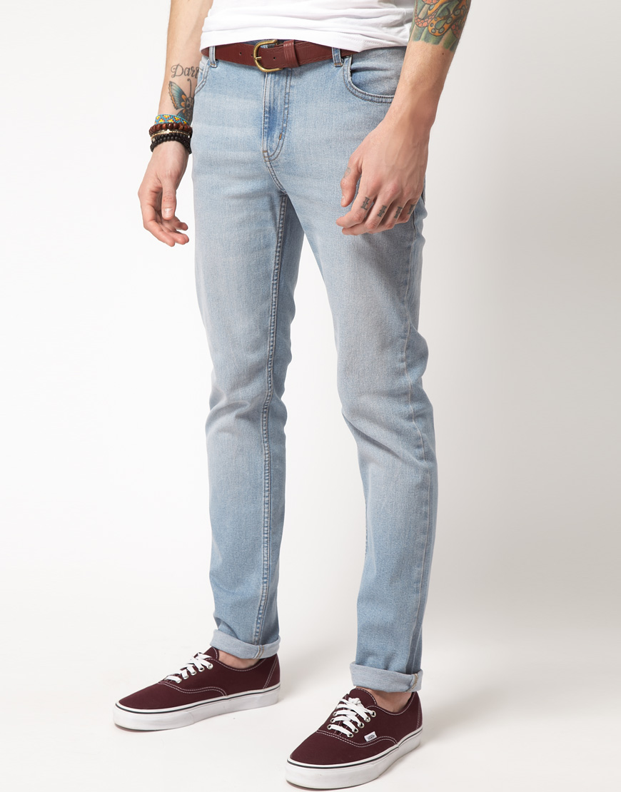 23c3ce4269b Cheap Monday Tight Skinny Jeans in Blue for Men - Lyst