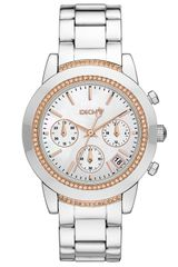 DKNY Street Smart Medium Chronograph Watch - Lyst
